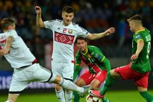 Обзор матча Беларусь - Болгария - 2:1