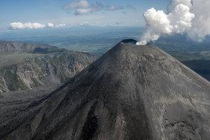 В России во время извержения вулканов произошло землетрясение