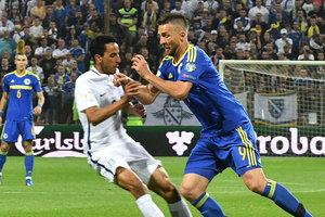 Появилось видео драки после матча Босния - Греция: тренер выбил футболисту зуб