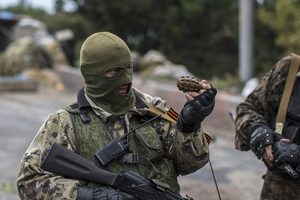 На Донбассе пьяные военные РФ устроили драку с местными жителями - разведка