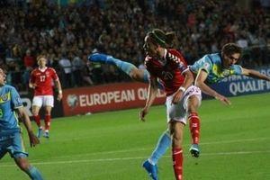Обзор матча Казахстан - Дания - 1:3