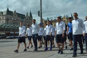 Сборная Украины прогулялась по Тампере