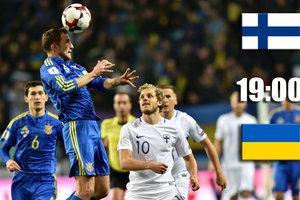 Онлайн матча Финляндия - Украина: Коноплянка открыл счет в матче