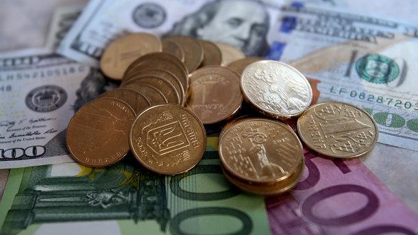 Вгосударстве Украина упал курс доллара иевро