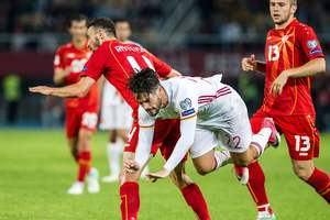 Обзор матча Македония - Испания - 1:2