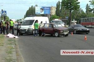 В Николаеве произошло смертельное ДТП