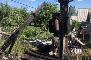 Боевики расстреляли два села на Донбассе - полиция