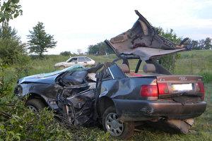 Жуткое ДТП в Хмельницкой области: женщина погибла мгновенно