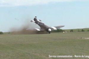 Самолет разбился во время авиашоу во Франции