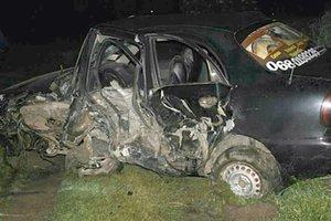 Смертельное ДТП в Хмельницкой области: столкнулись легковушка и грузовик DAF