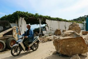 Землетрясение в Эгейском море: на Лесбосе повреждены десятки домов