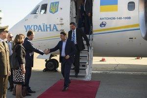 Гройсман прибыл с официальным визитом в Хорватию
