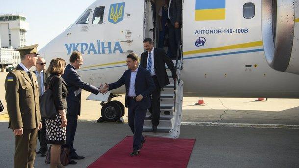 Владимир Гройсман прибыл вХорватию софициальным визитом