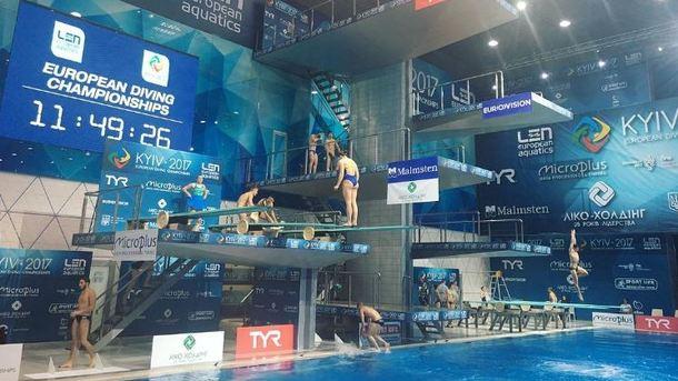 Кваша завоевал золото чемпионата Европы попрыжкам вводу