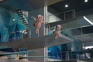 15-летняя украинка Лыскун стала пятой на киевском ЧЕ по прыжкам в воду с 10-метровой вышки