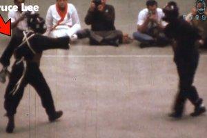 Видеохит: появилось единственное видео реального боя Брюса Ли