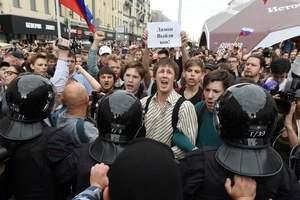 Во время антикоррупционных митингов в Москве были задержаны 136 несовершеннолетних