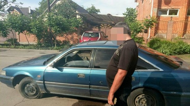 Водитель задержан. Фото: полиция