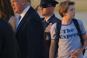 11-летний сын Трампа неожиданно стал иконой стиля