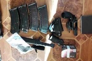 Под Киевом в гараже полиция нашла арсенал с гранатометами