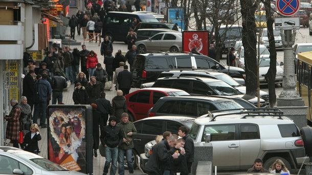 Всех водителей в Украине хотят заставить платить за парковку