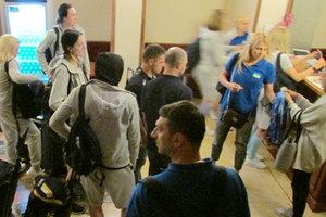 Сборная Украины 11 часов добиралась в Чехию, где проведет матчи Евробаскета-2017