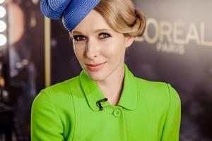 Катя Осадчая похвасталась ярким платьем за 1800 гривен