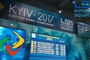 """Украинская пара выиграла """"золото"""" чемпионата Европы по прыжкам в воду"""