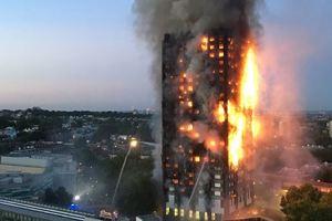 Количество жертв в результате масштабного пожара в Лондоне выросло до 12 человек