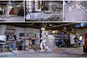 NASA тестирует двуногого робота для освоения Марса