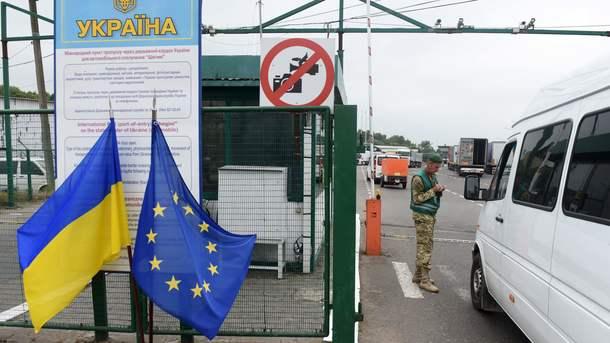 Украинка пробовала въехать вПольшу, спрятав сына вчемодане