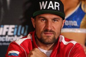 Российский боксер Ковалев отказался отвечать на вопросы на пресс-кронференции в Лас-Вегасе