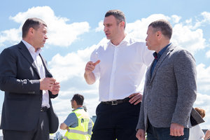 Виталий Кличко объяснил выбор проекта реконструкции транспортной развязки Шулявского путепровода