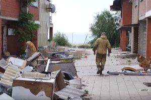 Безлюдная разруха: военные показали свежее видео из Широкино