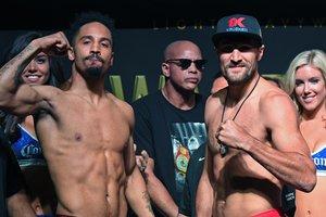 Боксеры Ковалев и Уорд показали одинаковый вес перед реваншем