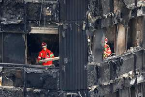 Полиция признала исчезновение 58 человек при пожаре в Лондоне
