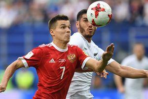 Россия стартовала на Кубке Конфедераций-2017 с победы над Новой Зеландией