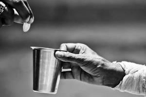 Бедность и счастье в Луганске