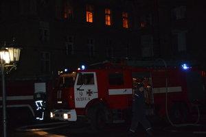 В Одессе пожар в здании Минообороны сопровождался взрывами