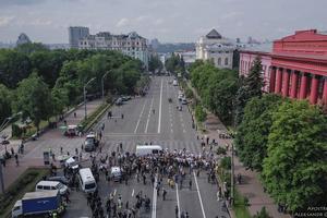 В Киеве избили двух представителей ЛГБТ после Марша равенства