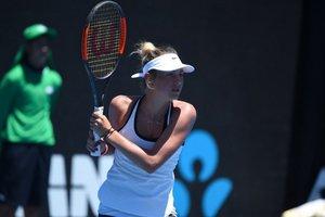 14-летняя Марта Костюк проиграла свой первый матч на турнире WTA