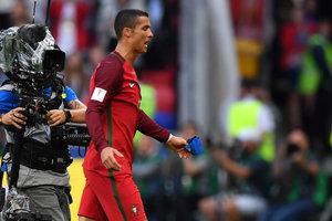 Не забившего гол Криштиану Роналду признали лучшим игроком матча