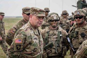 На польско-литовской границе впервые прошли военные учения НАТО по противодействию агрессии РФ