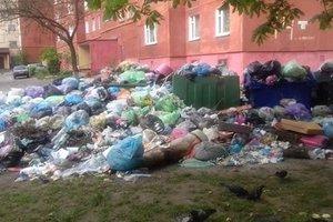 Во Львове накопилось 8,5 тысяч тонн мусора