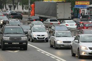 В Киеве на Сырце будут пробки до конца июня