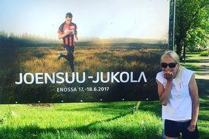 Биатлонистка Кайса Макаряйнен приняла участие в соревнованиях по спортивному ориентированию