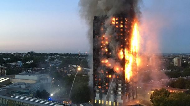Впожаре  вмногоэтажке встолице Англии  могли погибнуть 79 человек