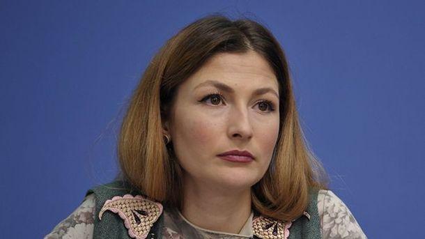 Эмине Джепарова. Фото: mip.gov.ua
