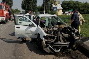 Смертельная авария возле Черновцов: ограда насквозь проткнула иномарку
