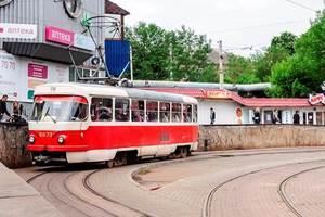 В Киеве трамвай №14 временно будет ходить по другому маршруту